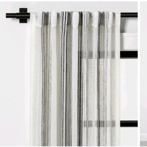 Vertical Stripe Curtain Home